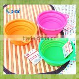 Cheap Foldable Eco-friendly Silicone Pet Bowl