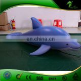 Vivid Inflatable Blue Whale / Hongyi Design PVC Animal Whale Toys