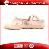 Top selling dance shoes leather ballet shoes ballet shoes for kids