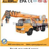 small and medium sized truck lifting hoist crane
