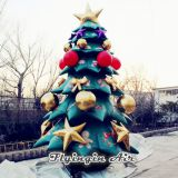 5m Height Inflatable Christmas Tree for Outdoor Christmas Decoration