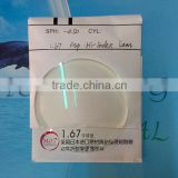 high index lens 1.67 aspheric lens(CE)