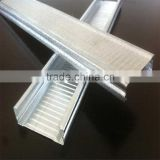 Indonesia suspended steel structure building material galvanized steel suspended ceiling