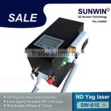 Tattoo Removal System Portable Q Switched Nd Mongolian Spots Removal Yag Laser Tattoo Removal SW-61E
