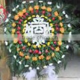 fresh floral foam & flower arrangements for sympathy