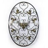 metal flower decorative wall panel