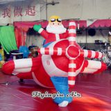 Advertising Christmas Decorative Inflatable Santa Claus for Indoor and Outdoor Xmas Decoration