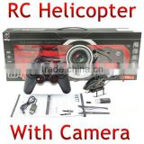 video Helicopter 3.5CH Remote Control Helicopters With Camera Gyro S977