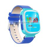 2016 Multifunction 1.44'' color screen Dual Locating G36 GPS watch for kids