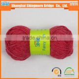 Knitted yarn china supplier cheapest wholesale oeko tex alpaca wool knitting yarn with free samples