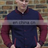 Top Latest Unisex Fashion Varsity Jacket - Light jacket - navy/white from Pakistan