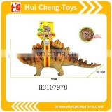 3D Simulation rubber animatronic dinosaur for sale