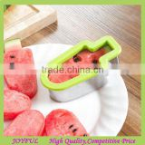 New Arrival Ice Lollies Shape Cutter Watermelon Slicer Cutter