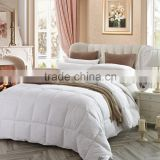 Factory made 2-4cm washed white goose down quilts new technology product in china