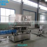 Automatic linear type oil packaging machine for olive cooking sunflower oil in bottle barrel or jar can