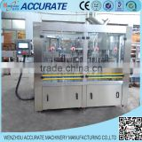 Glass bottle carbonated soft beverage packing and sealing machinery