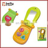 New plastic mini phone toy baby toy for 0-1 years