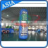 Promotional customized inflatable marker buoys plastic water floating buoy