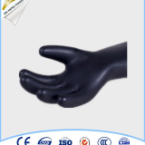 class 2 black latex safety gloves for live working