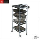 protable salon hair color trolley