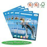 180GSM Single Side Glossy Photo Paper for HP, Canon, Epson Inkjet Printer/A4, A3, letter size, 10x15, A5, A6 /ISO9001/14001, FSC