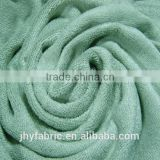 cotton bamboo blended terry towel fabric