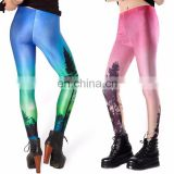 2017 new arrival 3d sublimation inviduation yoga pants for women