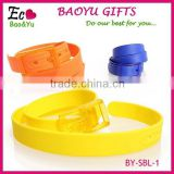 Fashion Accessories Plastic Golf Belt In Stock Plastic Belt with LOGO