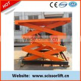 2.5m stationary scissor battery lift table/ vertical scissor lift / table hydraulic lift