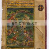 Mughal Battle Painting Hand Painted Paper Water color Original War Scene Painting