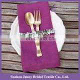 NP021A silver graduation personalized napkins bands
