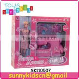 doll and sewing machine toys wtih music and light