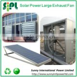 Industrial exhaust fan with solar panel 36V extractor fan blower tangential axial fan