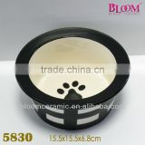 New Arrival High Quality Dog Bowl With Stripe