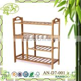 Low price guaranteed quality bamboo shoe rack