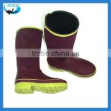 women fashion rubber rain boots