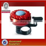 Embossing sun flower design bicycle ring bell.