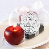 OEM christmas fruit candle made in china