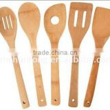 bamboo/ wood <b>kitchen</b> utensil <b>set</b>