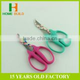 "Factory price HB-S6026A 6"" Professional stainless steel non-stick coating blade grape scissors"