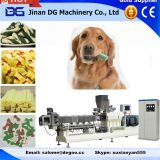 Automatic pet dog treats/chewing food extruder machine production plant