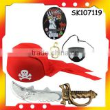 hot selling pirate sword toy pirate rings for halloween