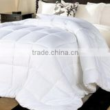 190T brushed microfiber with OEKO quilt insert white microfiber quilt