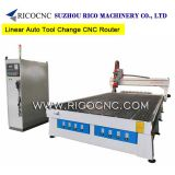 3 Axis Linear Auto Tool Change CNC Router with Italy HSD 9.0KW Spindle ATC2040AD