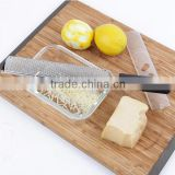 Microplane Style 18/8 Stainless Steel Blade, Ergonomic Handle Cheese Zester/Grater /lemon zester/ cheeser grater
