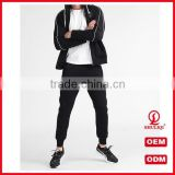 custom design your own skinny tracksuit set whoelsale men sports gym plain tracksuit