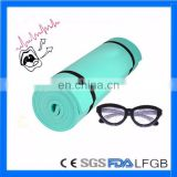 Comfortable eco friendly fitness yoga mat