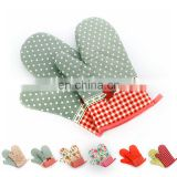 China factory supply household printed durable funny oven mitts