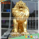 ALibaba China Life Size Large Outdoor Fiberglass Animal Statue Molds for Sale