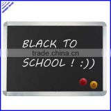 2014 high quality magnetic school black board with aluminium frame